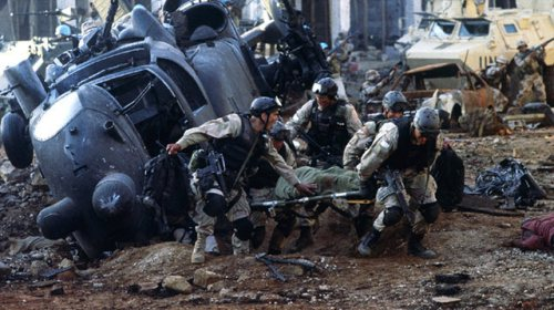 black-hawk Down - scene from the movie