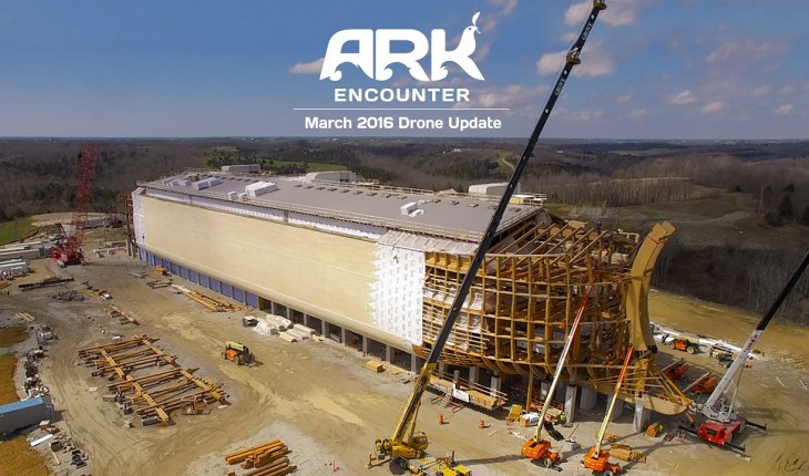 Amish carpenters nearing completion of life-sized Noah's Ark