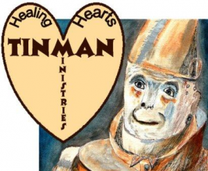 Pornogrphy and Sextrafficking - tin man logo