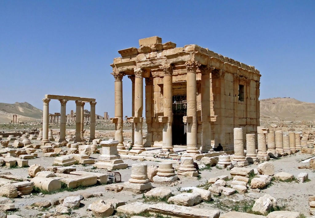 Temple_of_Baal-Shamin,_Palmyra before IS distruction