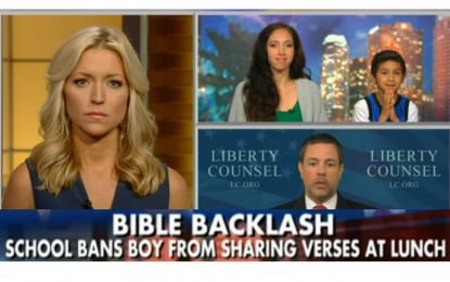 Elementary School Calls Police on 7-Y-O Boy for Sharing Bible Verses