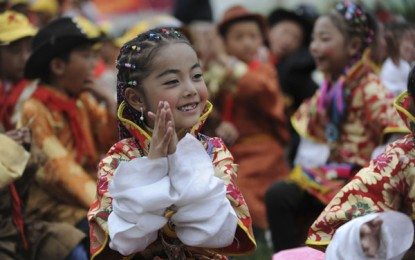 Prayers for life on Children's Day in China