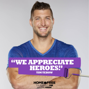 Tim Tebow to Host FOX's 'Home Free'