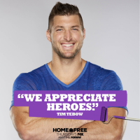 Tim Tebow to Host FOX's 'Home Free' With Many Real Life Heroes