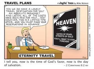 Eternity Travel cartoon