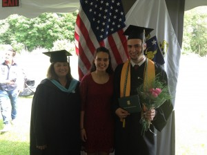 Graduating Before the Angels - Connor-Yani-Monica