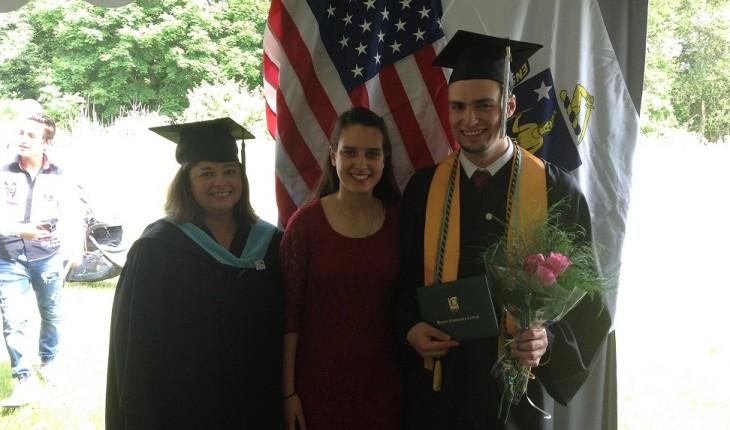Graduating Before the Angels of God
