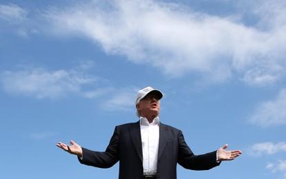 Is Donald Trump now a born-again Christian?