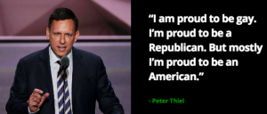 PayPal Founder Peter Thiel Endorses Trump