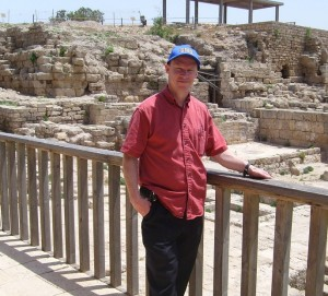 Teaching the teacher - Charles Brown in Israel