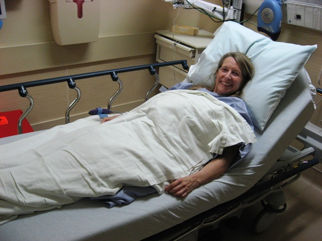 Tell Her - Meg smiling before 2012 cancer surgery