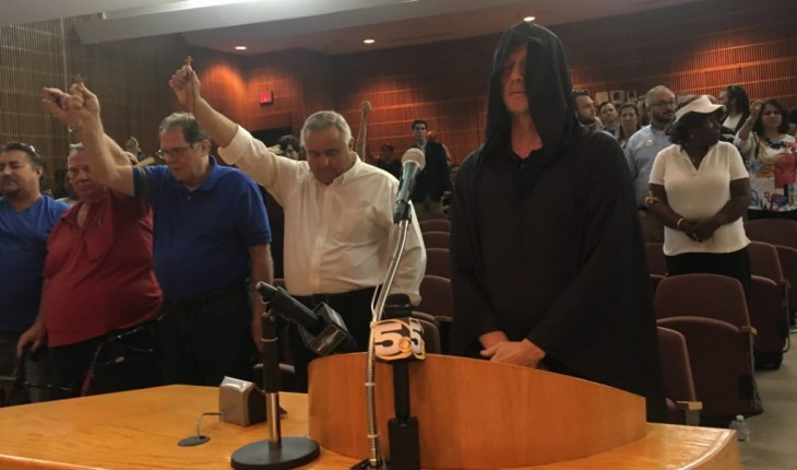 Why a Satanic Temple member wants to perform rituals before a city council in the Bible Belt