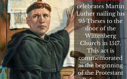 95 Theses to the Modern EvangelicalChurch
