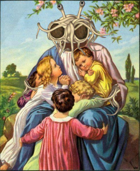 Afterschoolsatan - The Gospel of the Flying Spaghetti Monster