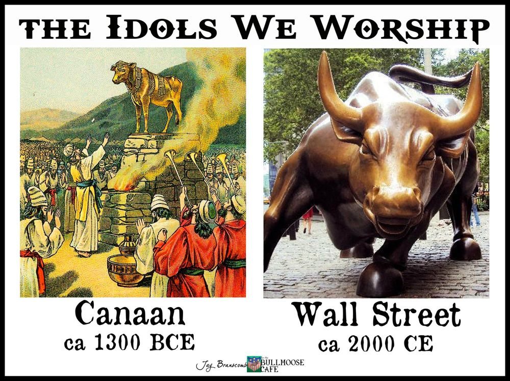 Image result for wall street bull idol merchant
