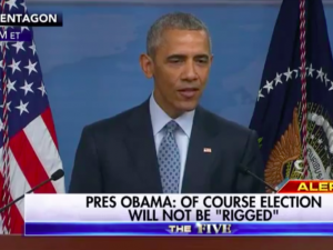 Is Obama rigging 2016 election
