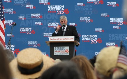 FRANKLIN GRAHAM BRINGS DECISION AMERICA TOUR 2016 TO PROVIDENCE