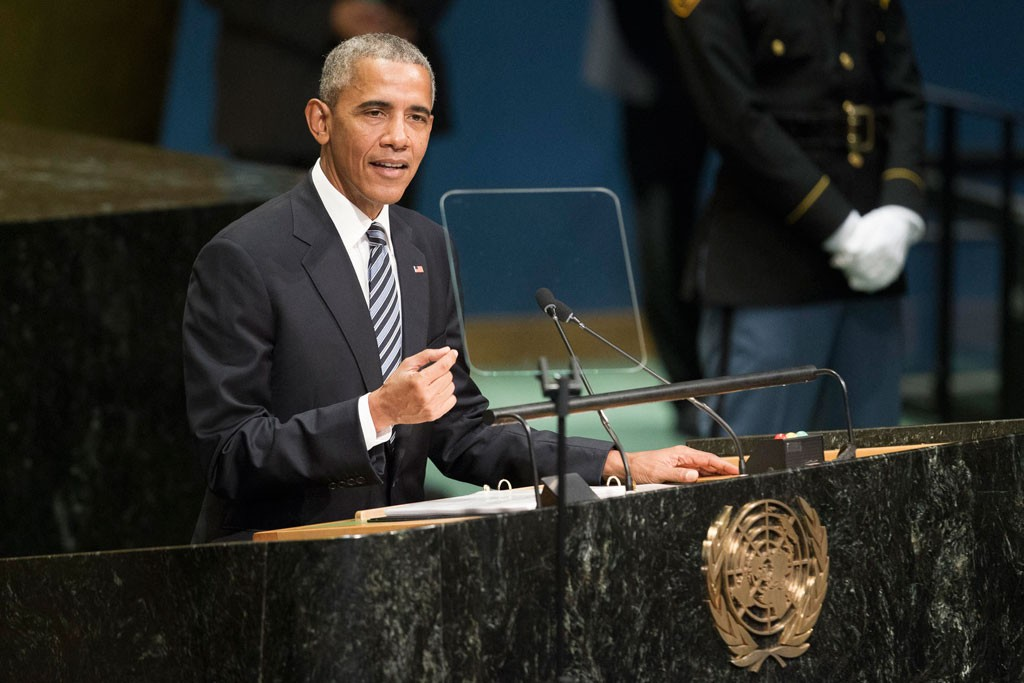 US President Addresses the Hall. General Debate of the seventy-first Regular Session of the  General Assembly