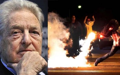 Billionaire Globalist Soros Exposed as Hidden Hand Behind Trump Protests — Provoking US 'Color Revolution'