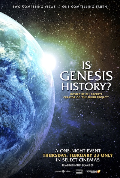 Documentary 'Is Genesis History?'Explores the Biggest Questions
