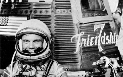 John Glenn's faith grew stronger in space