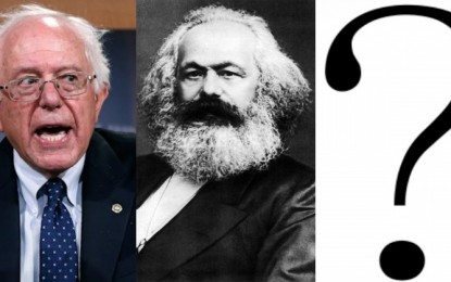 MILLENNIALS SUPPORTING KARL MARX NOT THE BIBLE