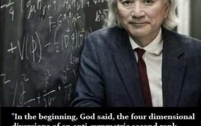 """World-Famous Physicist Drops Bombshell """"God"""" Discovery"""
