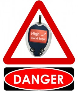 High blood sugar can have damaging effects on the brain