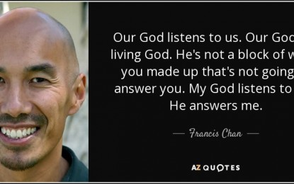 How God answered Francis Chan's 'ridiculous' prayer for a son-in-law