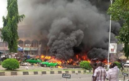Nigerian fighter jet bombs refugee camp