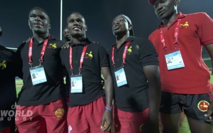 Uganda: National rugby team sings Christian hymn before every game