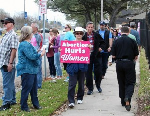 A prayerful protest