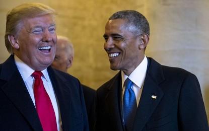 Barrack Obama Scheming to Overthrow Trump