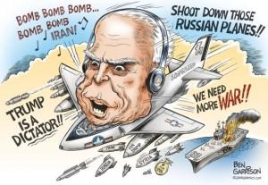 Lavrov vs. McCain
