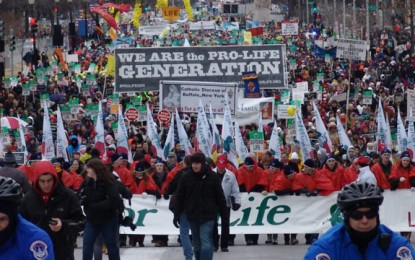 March for Life basks in presidential spotlight