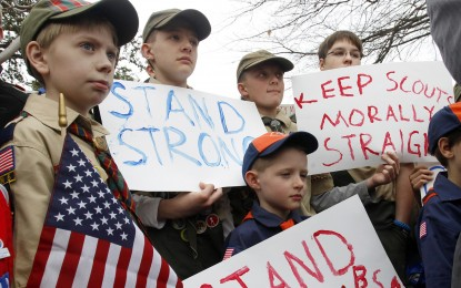 Churches respond to Boy Scouts transgender policy