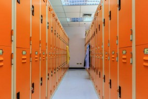 Student sues school over girl in boys' locker room