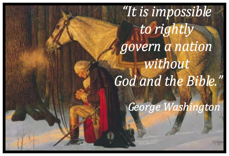 America Was Founded - George Washington