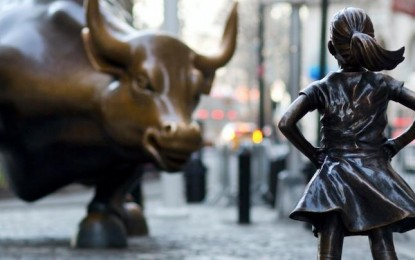 Controversy erupts over Wall Street statue