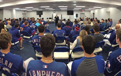 Rangers' spring training yields 'incredible' ministry