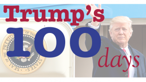 Scoring Trump's first 100 days