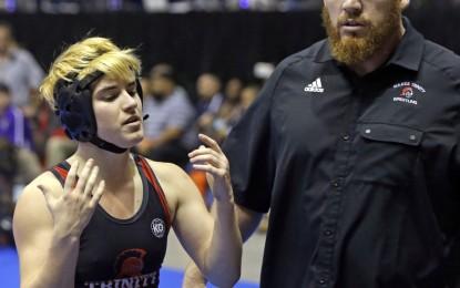Texas grapples with transgender wrestler's case