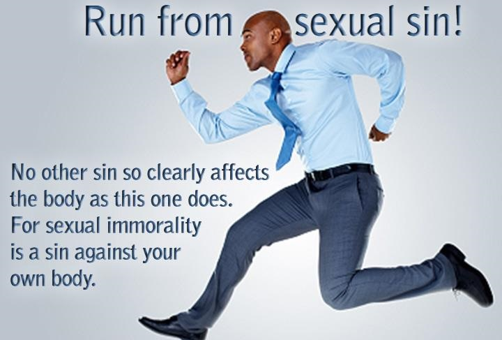The Bible Says To Run Away1