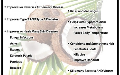 Big Pharma and Mainstream Media Attack Coconut Oil with Mis-information