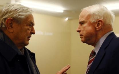 George Soros funds McCain Institute