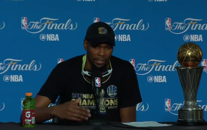 Golden State Warriors Win NBA Championship, Kevin Durant Wins MVP