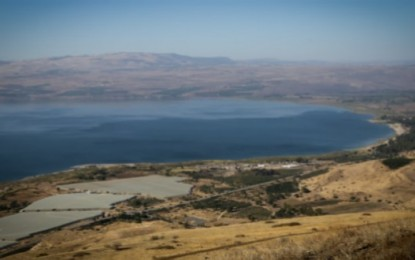Sea of Galilee's Record-High Salinity Shows Biblical Lake in Danger of Becoming Desolate as Prophesied