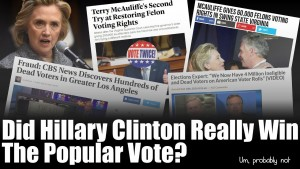 Study uncovers 5.7 MILLION illegal votes