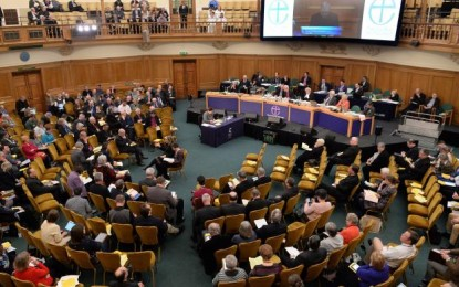 Church of England votes to affirm transgender members