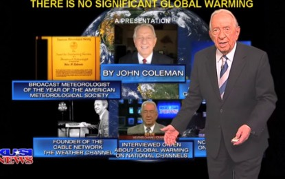 "Founder of the Weather Channel, ""There is No Global Warming"""